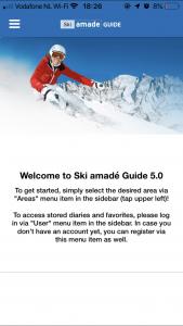 app Ski Amade