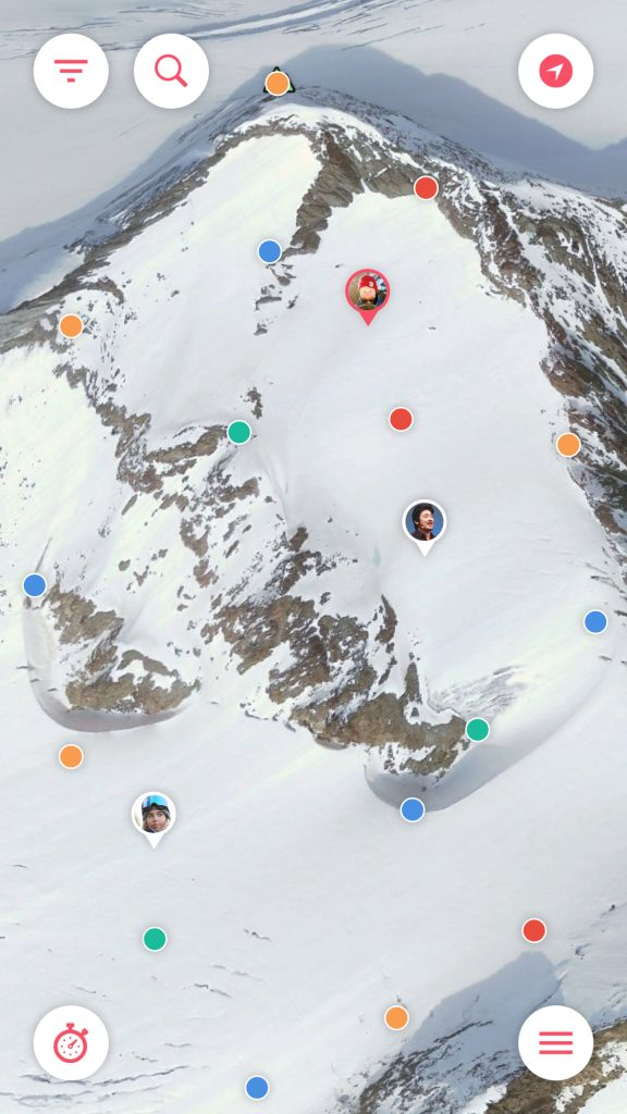 Traverse - Map