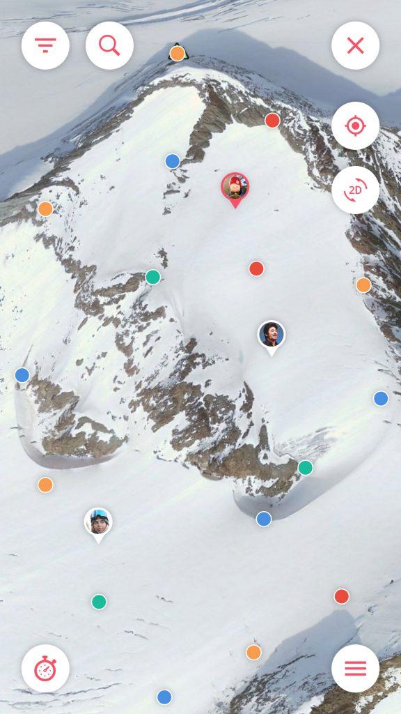Traverse - Map options