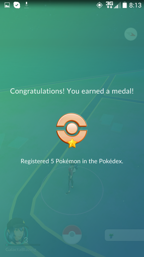 Pokemon GO - medal